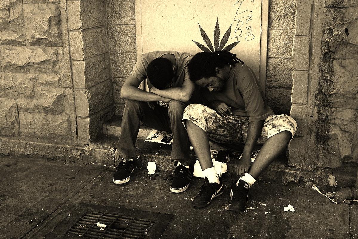 Benadering drugsgebruikers