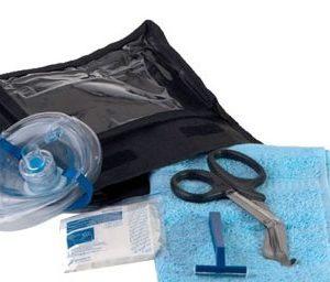 reanimatieset trauma kit met schaar beademingsmasker