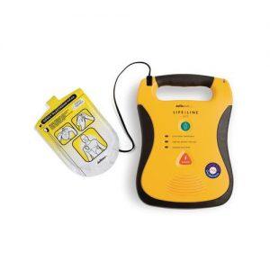 Defibtech Lifeline defibrillator, vol / half-automatisch operationeel handhaving politie ehbo zoll phillips automatisch half pads kinderen volwassenen auto onderweg surveillance lange standby lifeline