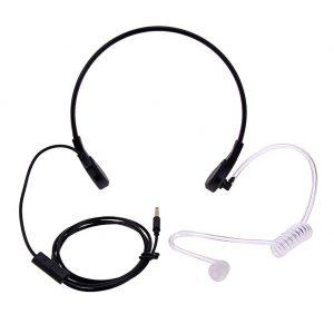 keelmicrofoon tactisch omgevingsgeluid reductie stemband stembanden beveiliging evenementen evenement kermis festival