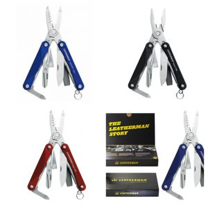 Leatherman Squirt PS4 Black / LE PS4 rood blauw zwart gift kopen handhaving boa multitool mes politie