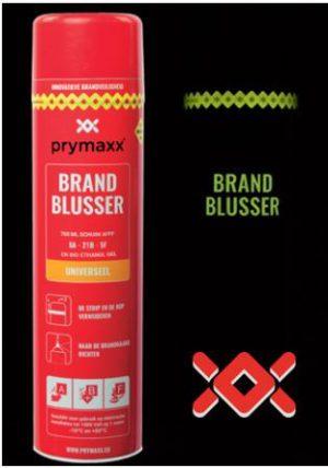 blus brand blusser blusmiddel brandblusser prymaxx