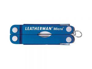 leatherman micra le 5889 groen rood blauw zilver leer leder nylon
