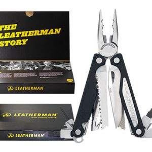 Leatherman Charge ALX Giftbox / LE 6010-G zwart zilver