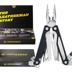 Leatherman Charge ALX Giftbox / LE 6010-G zwart zilver