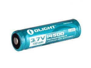 Olight 14500 battery 750mAh op blister