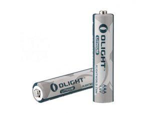 Olight AAA Lithium battery 1.5 V 1100mAh