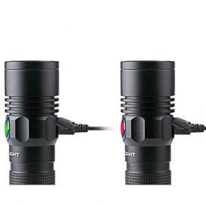 Olight R18 Rechargeable oplaadbaar oplaadbare zaklamp