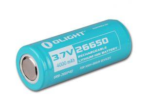 Olight RCR123A battery 3.7V 650mAh rechargeable