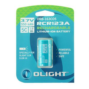 Olight RCR123A Accu voor S1R rechargeable