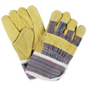 Werkhandschoen varkenssplitleder handschoen