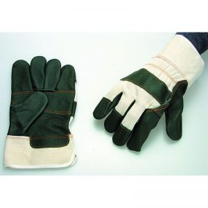 Werkhandschoen varkenssplitleder handschoen leder leer