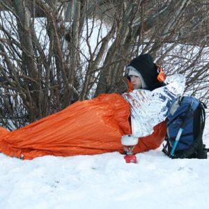 blizzard warmte deken onderkoeling water outdoor survival