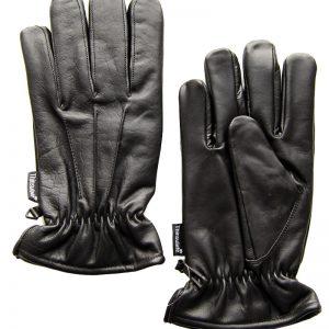 Lederen kwaliteitshandschoen lederen handschoenen leer kwaliteit politie uniform handhaving