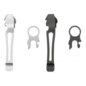 Leatherman Pocketclip + Koordoog clip leatherman lanyard hole riem