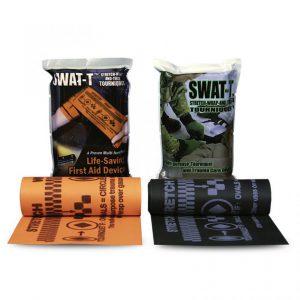 tourniquet swat t black zwart oranje orange rubber goedkoop prijs kwaliteit trauma eerste hulp stop het bloeden bleeding first respond beste kwaliteit