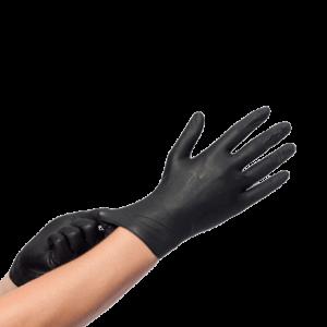 zwarte zwart medische handschoenen handschoen rubber rubberen plastic