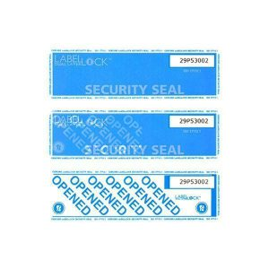 verzegeling panden label sticker plakband