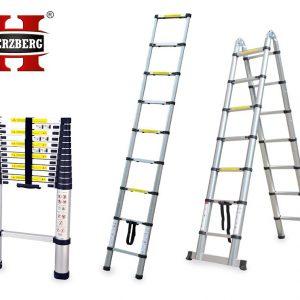 telescoopladder telescopische ladder uitschuifbaar