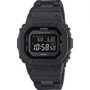 DW-5600BB-1ER Bij IOV vind je de mooiste G-Shock horloges, zoals dit Bluetooth Solar horloge G-Shock GW-B5600BC-1BER voor heren. Het horloge heeft een solar uurwerk.