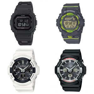 G-Shock en Thin blue line