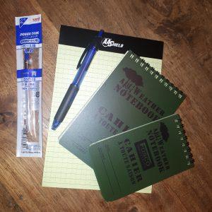 all wheater schrijfpakket
