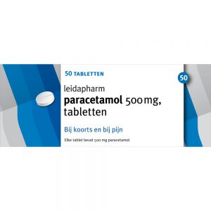 Leidapharm Paracetalmol 50 x 500mg
